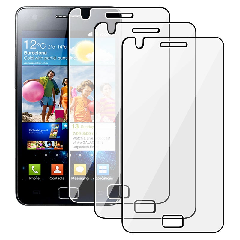 Screen Protector for Samsung Galaxy S II i9100 (Pack of 3)