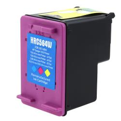 INSTEN HP 61XL/ CH564WN Color Ink Cartridge for Inkjet Printers (Remanufactured)
