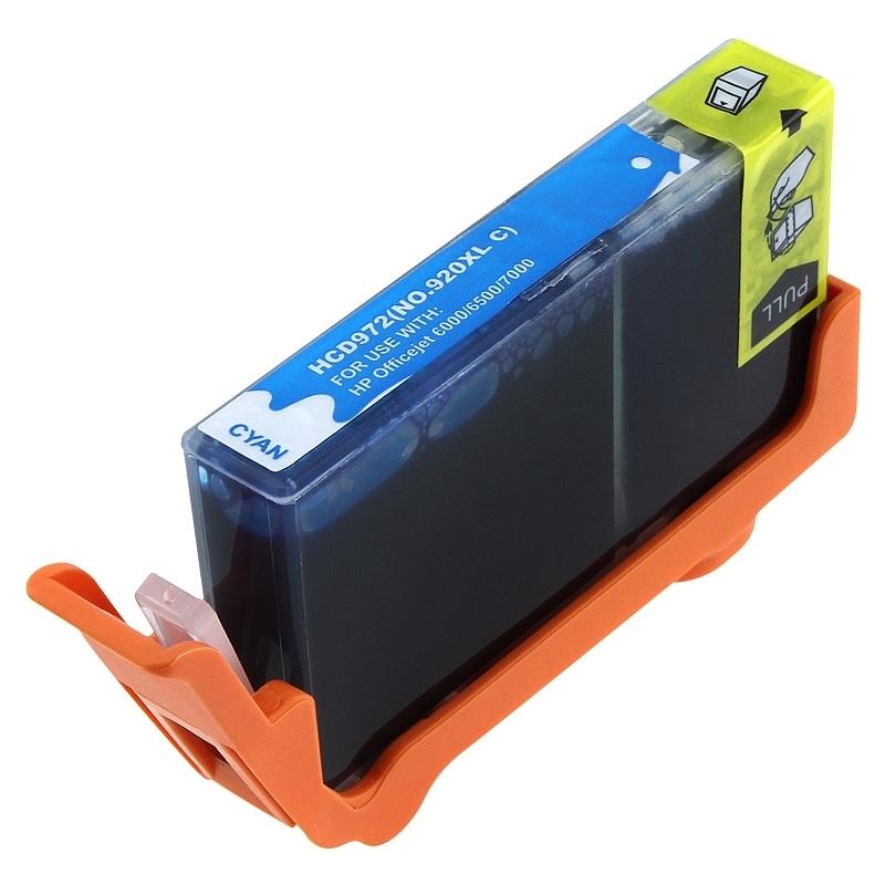 BasAcc HP Compatible 920XL/ CD972AN Cyan Ink Cartridge