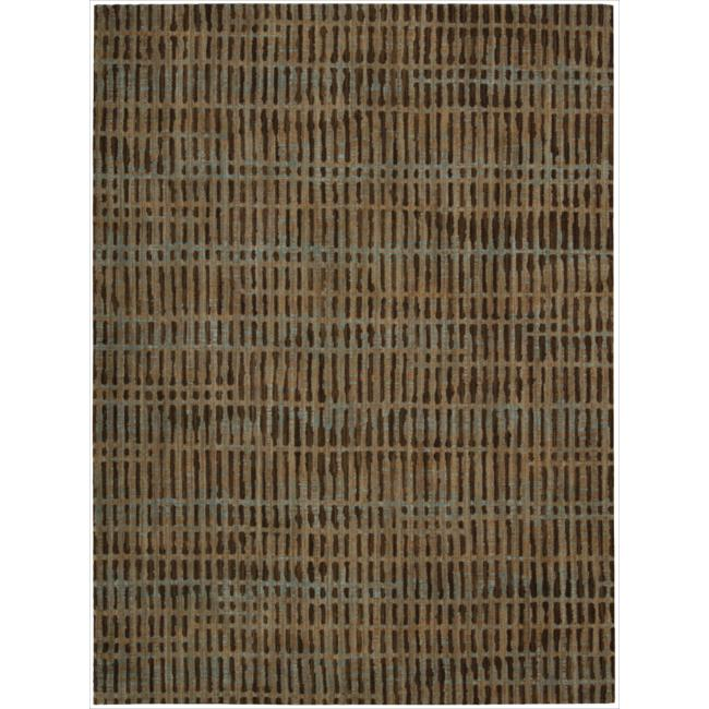 Nourison Home Loom Select Brown Rug (5'6 x 7'5)