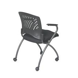 Office Star Deluxe Folding Chairs (Pack of 2)