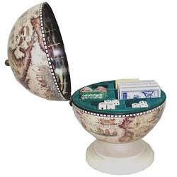 Playing Card, Dice and Poker Chip Storage Globe