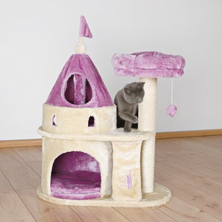 Trixie pet products my kitty darling castle overstock for Castle cat tower