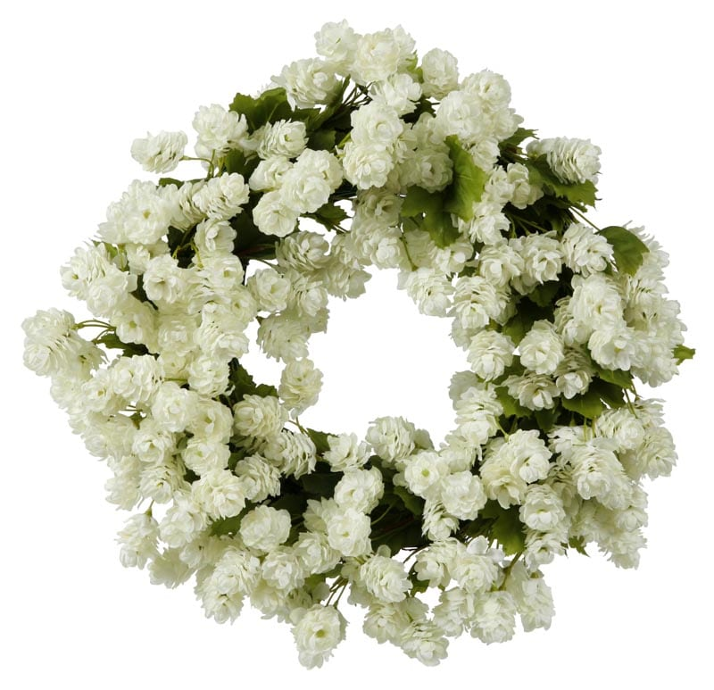 Hops 16 inch wreath 14260912 shopping for Artificial hops decoration