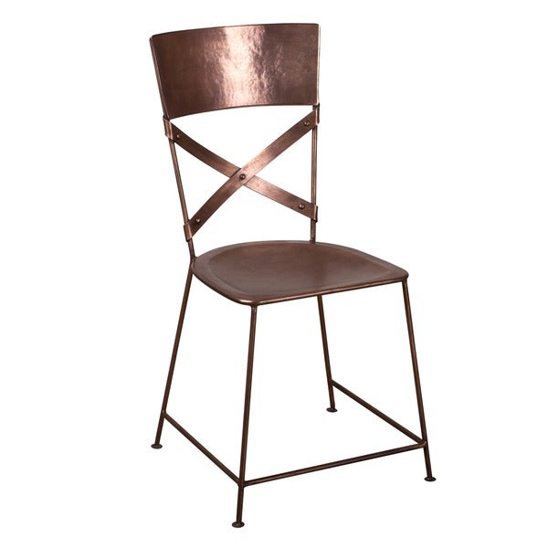 X Back Copper Dining Chair 14260945 Shopping Top Rated Di