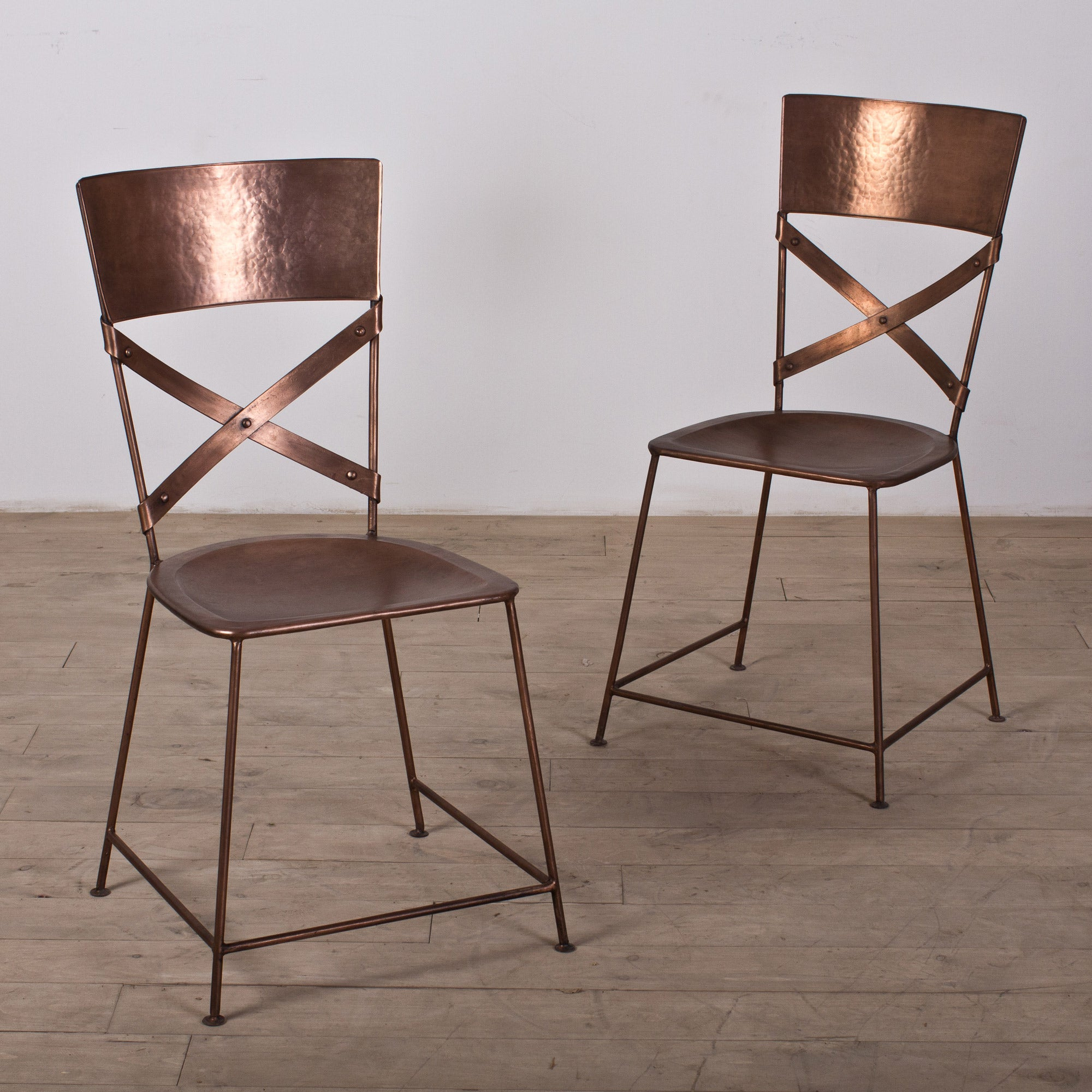 Set of Two Jabalpur Dining Chair Copper India
