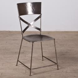 Jabalpur Dining Chair Antique Nickel (India)