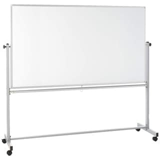 Offex Reversible Dry-Erase Adjustable Magnetic Whiteboard