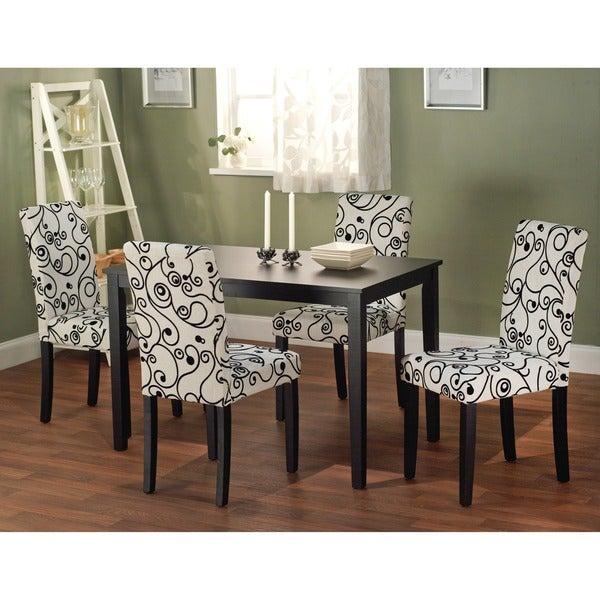 Big Lots Dining Room Chairs: Simple Living Sophia 5-piece Parson Dining Set