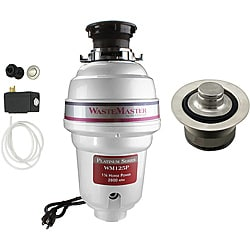 WasteMaster WM125P_1_20 1/4 HP Garbage Disposal with Air Switch/ Flange Kit