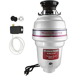 WasteMaster WM125P_26 1/4 HP Food Waste/ Garbage Disposal with Air Switch Kit
