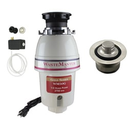 WasteMaster WM50G_1_20 1/2 HP Garbage Disposal with Air Switch/ Flange Kit