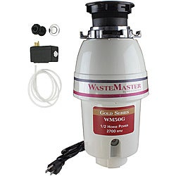 WasteMaster WM50G_26 1/2 HP Food Waste/ Garbage Disposal with Air Switch Kit