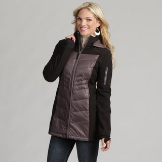 Halifax Women's Soft Shell Down Storm Cuff Parka