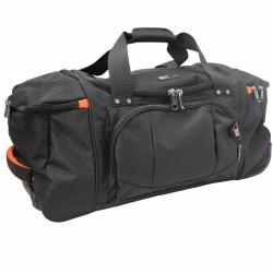 Kenneth Cole Reaction 'Hitchin' A Ride' Designer 22-inch Carry On Rolling Upright Duffel Bag