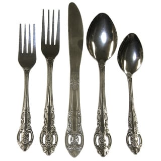 Bellamo Stainless Steel 45-piece Flatware Set