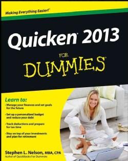 Quicken 2013 For Dummies (Paperback)