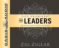 Life Promises for Leaders: Inspirational scriptures and devotional thoughts (CD-Audio)