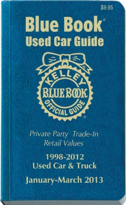 Kelley Blue Book Used Car Guide 1998-2012: January - March 2013: Consumer Edition (Paperback)