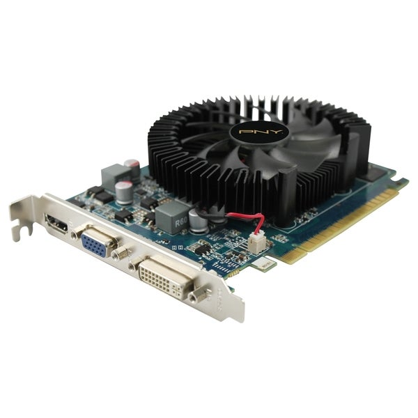 PNY GeForce GT 630 Graphic Card - 810 MHz Core - 2 GB DDR3 SDRAM - PC