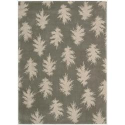 Nourison Home Hand-tufted Naturals Grey Rug (8' x 11')