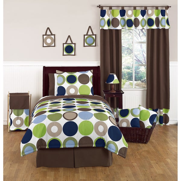 Sweet JoJo Designs Designer Dot 4-piece Twin-size Bedding Set