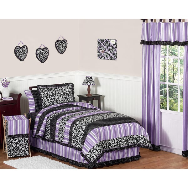 Sweet JoJo Designs Kaylee 4-piece Twin-size Bedding Set