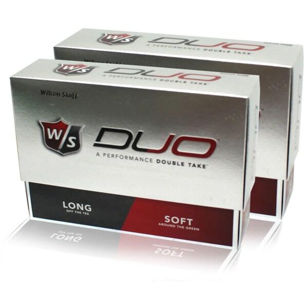 Wilson DUO Golf Balls (Case of 24)