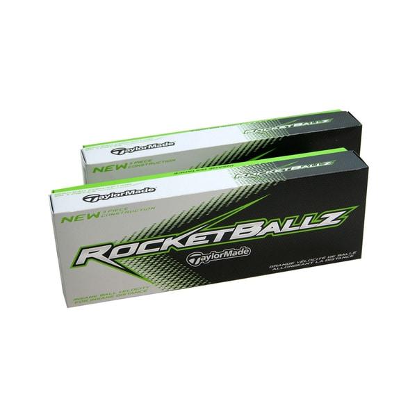 TaylorMade RocketBallz White Standard-size Golf Balls (Case of 24)