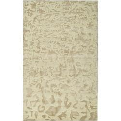 Handmade Soho Ivory New Zealand Wool Rug (8'3 x 11')