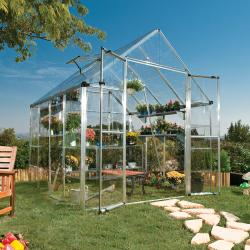 Palram Silver 8x8-foot Snap and Grow Greenhouse