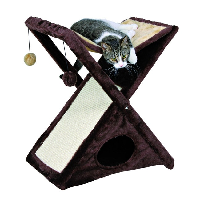 Trixie Pet Products Miguel Fold-and-Store Cat Tower