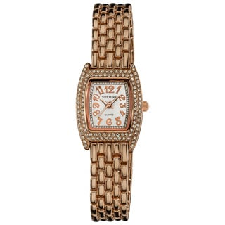 Vernier Women's Rose-Tone Classic Feminine Quartz Watch