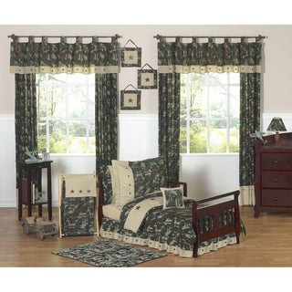 Sweet JoJo Designs Green Camo 5-piece Toddler Bedding Set