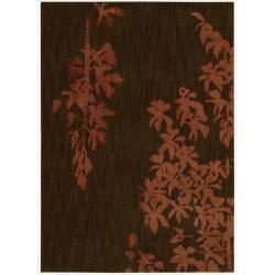 Nourison Home Metropolitan Red Rug (7'9 x 10'10)