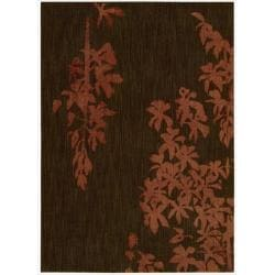 Nourison Home Metropolitan Red Area Rug (5'3 x 7'5)