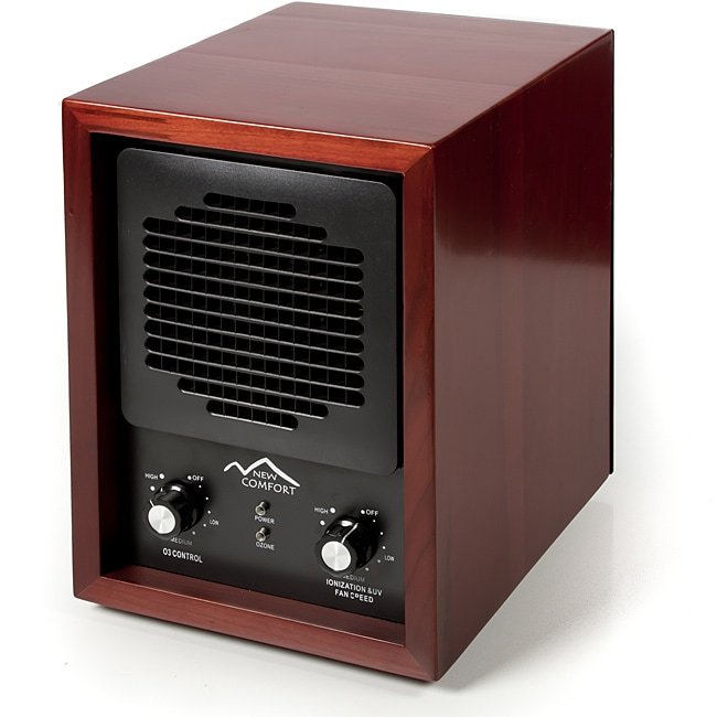 Cherry Wood 6-stage Air Purifier with HEPA UV Ozone Ionic