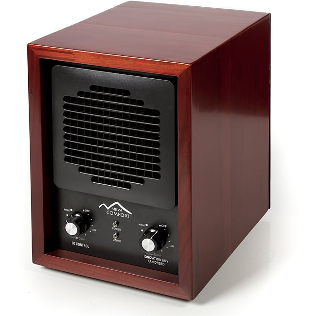 New Comfort Cherry Wood 6-stage Air Purifier with HEPA UV Ozone Ionic at Sears.com