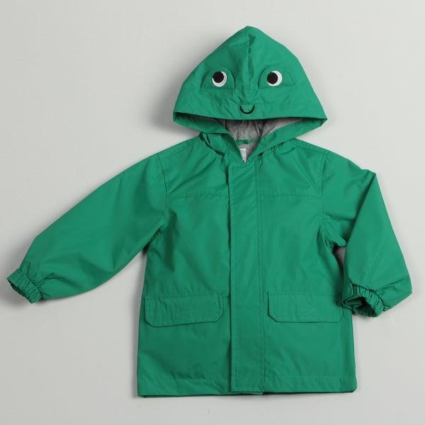 Carter's Toddler Boy's Frog Rain Jacket FINAL SALE