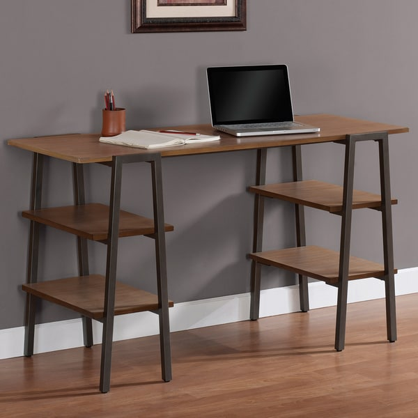 Metal and Wood Baxter Desk