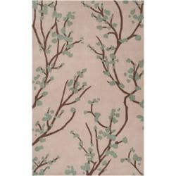 angelo:HOME Hand-tufted Green Hudson Park Polyester Rug (3'3 x 5'3)