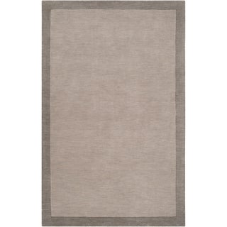 angelo:HOME Loomed Gray Madison Square Wool Rug (8' x 10')