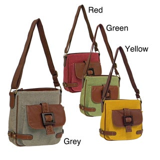 Gal by Bueno 'Saddle Mountain' Canvas Crossbody Bag