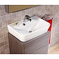 Bissonnet 'Emma' White Bathroom Ceramic Sink