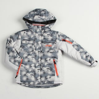London Fog Boy's Grey Snowboard Jacket