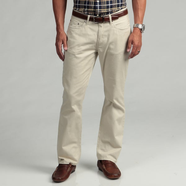 Kenneth Cole New York Men's Sahara Tan Pants FINAL SALE