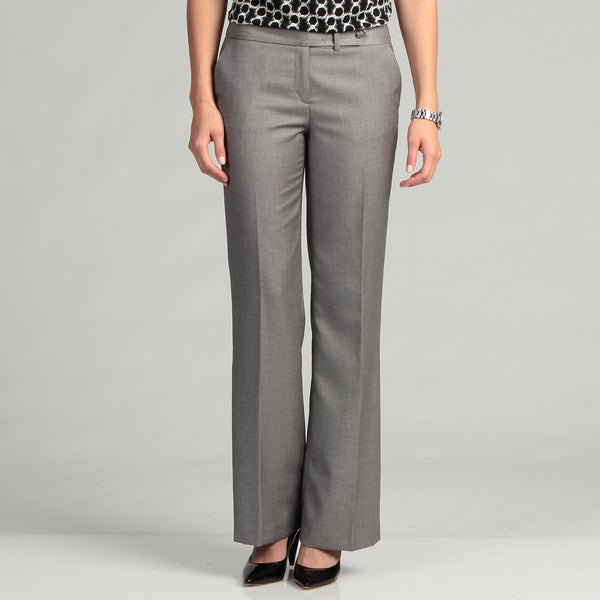 Calvin Klein Women's Silver Sheen Pants