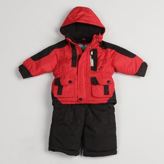 London Fog Infant Boy's Colorblocked Snow Suit