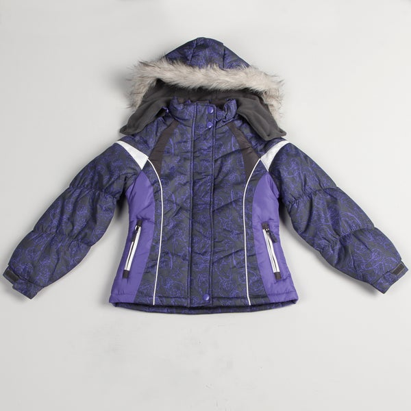 London Fog Girl's All-over Design Jacket