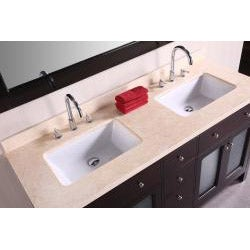 Design Element Venetian 60-inch Double Sink Bathroom Vanity